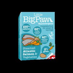BIGPAW מעדן ביגפאו סלמון וירקות 150 גרם