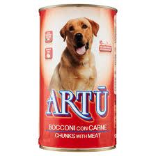 ארתו – שימורים לכלב בטעם בשר 400 גרם