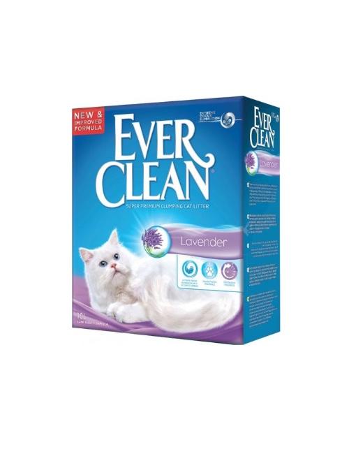 אברקלין EVER CLEAN לילך לבנדר  10 ליטר
