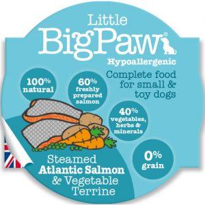 BIGPAW מעדן ביגפאו סלמון וירקות 85 גרם
