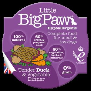 BIGPAW מעדן ביגפאו ברווז וירקות 85 גרם