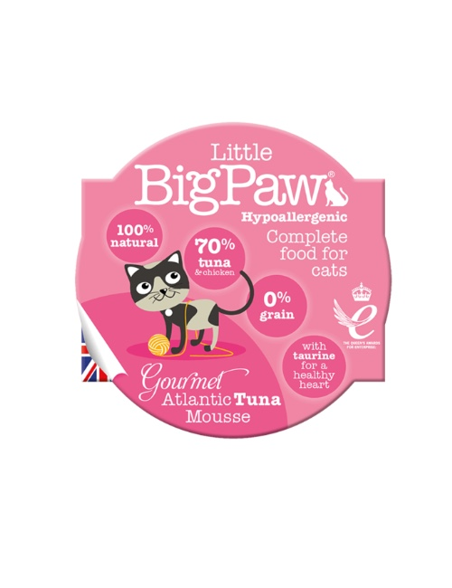 BIGPAW מעדן ביגפאו טונה 85 גרם