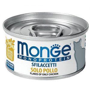 מונג' MONGE חתול  מונו פרוטאין עוף   80 גרם