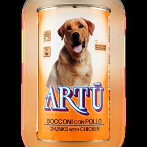 ארתו – שימורים לכלב בטעם עוף 400 גרם