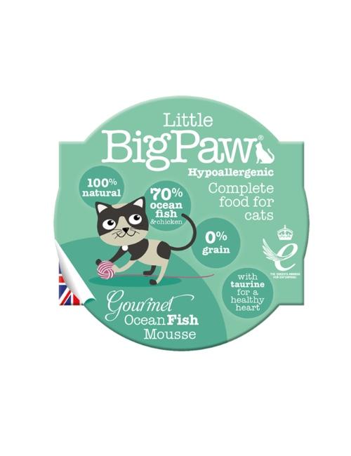 BIGPAW מעדן ביגפאו דגי אוקיאנוס 85 גרם