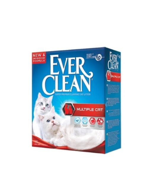 אברקלין EVER CLEAN אדום מולטיטקס 10 ליטר