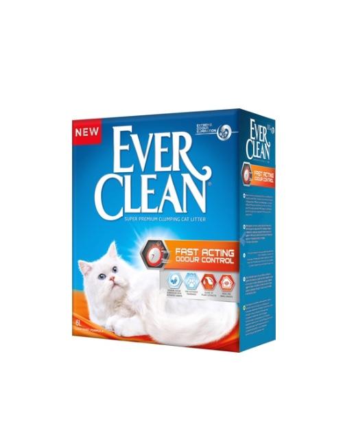 אברקלין EVER CLEAN כתום פ.מהירה 10 ליטר
