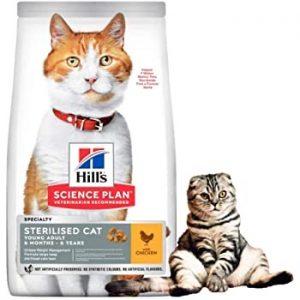 HILLS   בטעם עוף לחתולים  מסורסים  3 קילוגרם