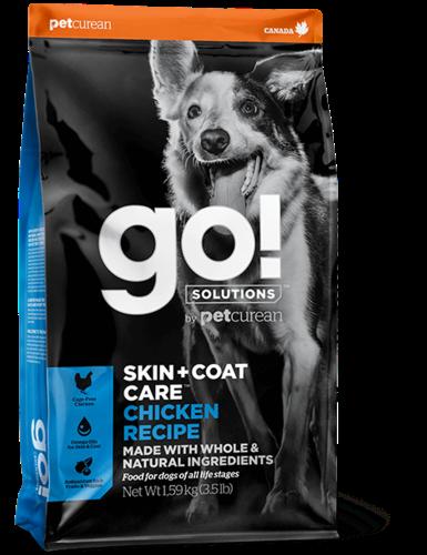 גוו GO כלבים עוף 1.6 קילוגרם