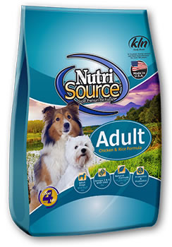 NUTRI SOURCE – עוף ואורז 2.2 קילוגרם