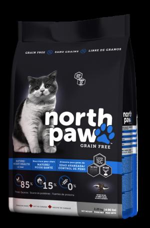 NORTH PAW לחתולים מבוגרים/עודף משקל 2.25 קילוגרם