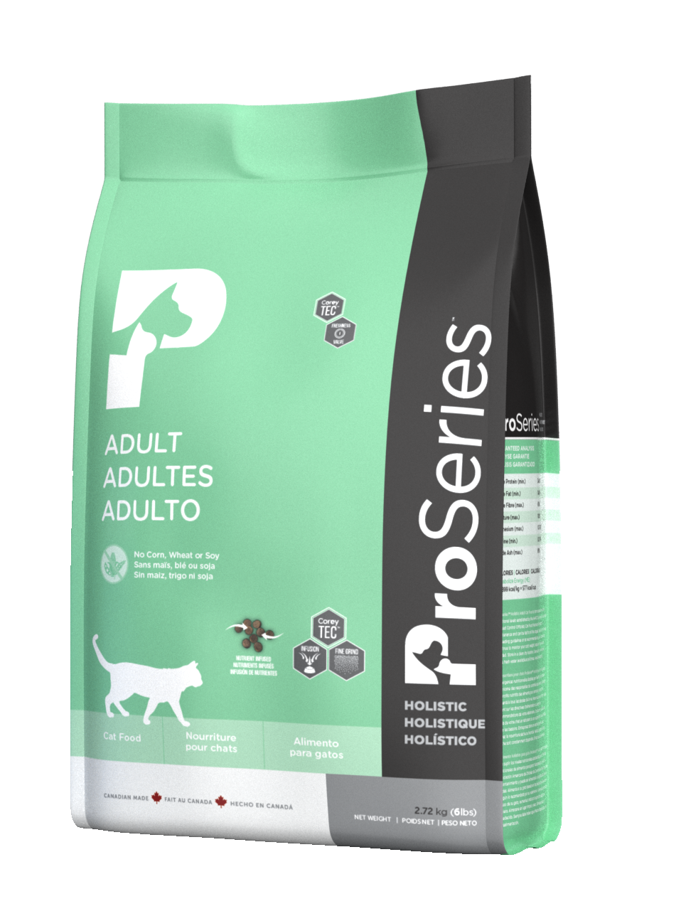 PRoSeries הוליסטי  לחתולים בוגרים 5.8 קילוגרם