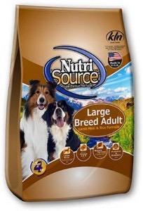 NUTRI SOURCE – בוגר כבש גזע גדול 13.6 קילוגרם