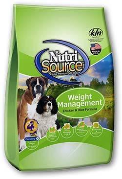 NUTRI SOURCE – לייט לכלב עם בעיות משקל 2.3 קילוגרם