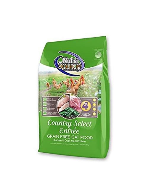 NUTRI SOURCE COUNTRY- עוף וברווז 3 קילוגרם