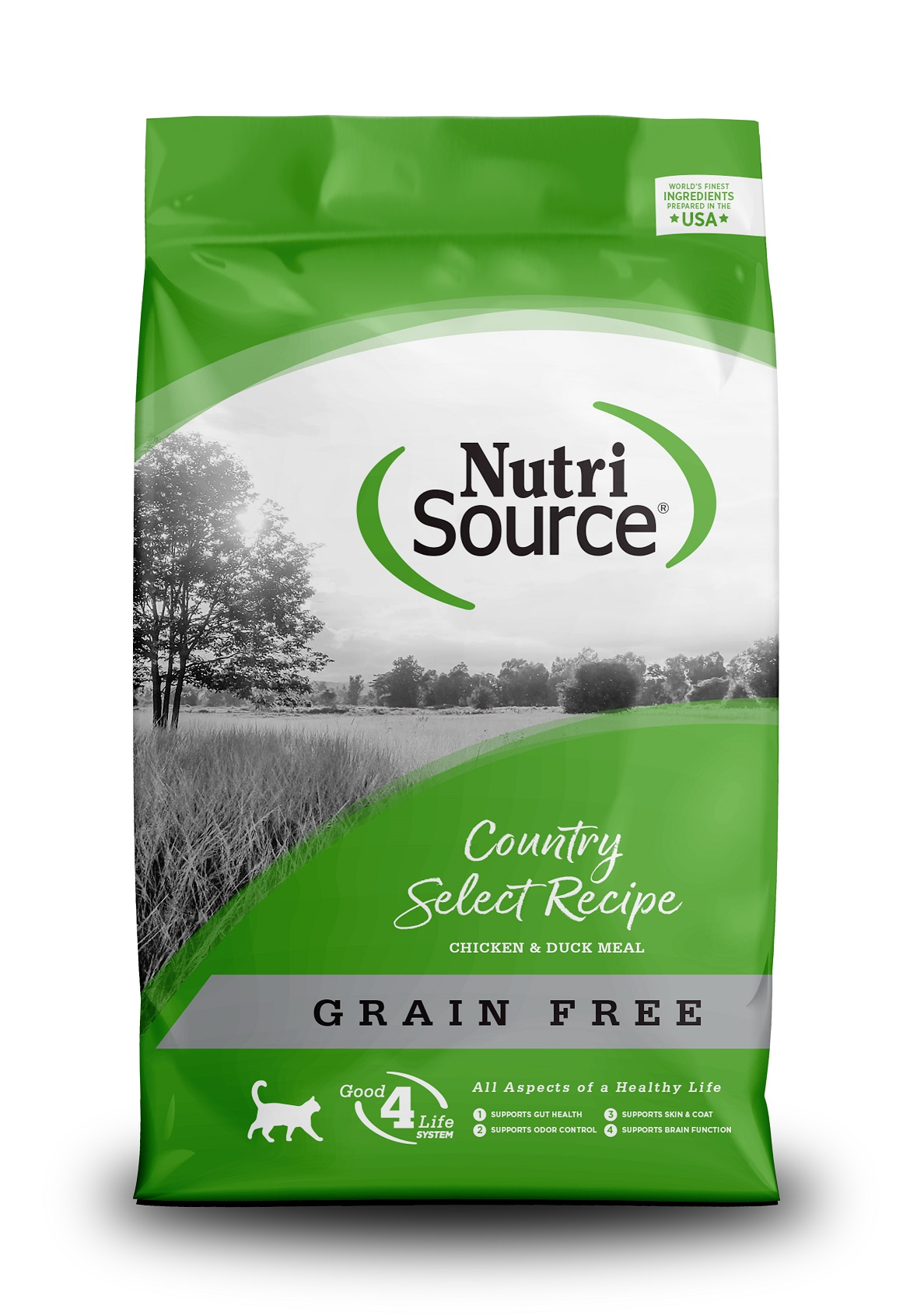 NUTRI SOURCE COUNTRY- עוף וברווז 6.8 קילוגרם