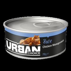 URBAN CHOICE  פטה עוף 70 גרם
