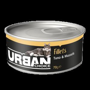 URBAN CHOICE  פילה טונה 70 גרם