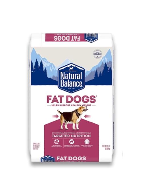 NATURAL BALANCE עוף וסלמון לכלבים עם עודף משקל 6.8 קילוגרם
