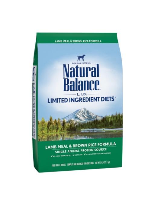 NATURAL BALANCE כבש ואורז 10.9 קילוגרם