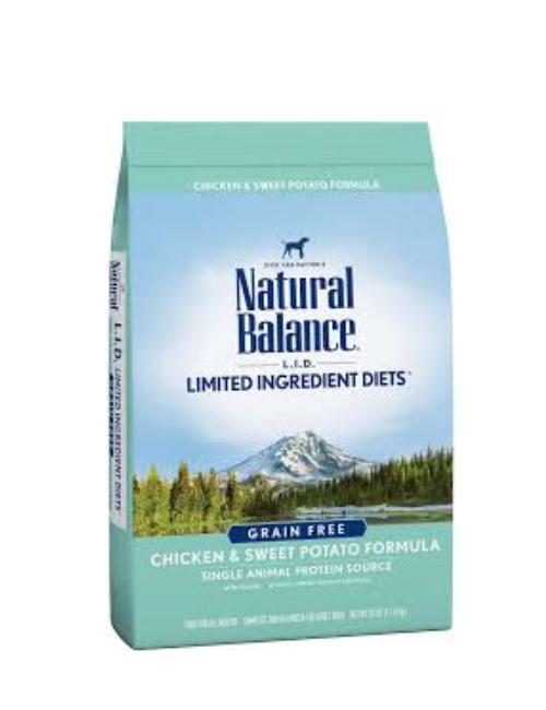 NATURAL BALANCE עוף ובטטה 10.9 קילוגרם