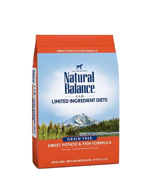 NATURAL BALANCE סלמון ובטטה 1.81 קילוגרם
