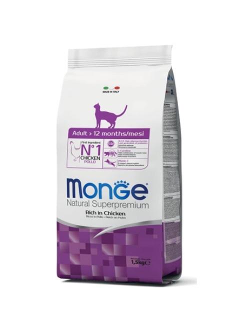 MONGE מונג'  מונו אדולט עוף 1.5 קילוגרם