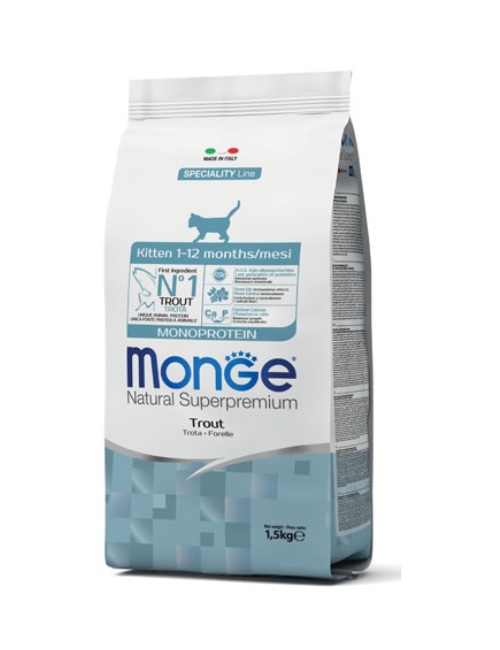MONGE מונג'  מונו קיטן פורל 1.5 קילוגרם