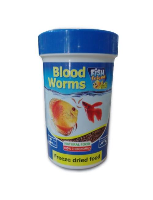 FISH FRIEND  תולעי דם 9 גרם